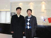 韩国BK东洋整形外科医院金炳建院长访问大连何医生鼻整形新门诊