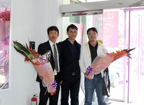 美丽会何栋良秘书长和李耀宇常务理事访问沈阳博美和美丽会医疗美容医院